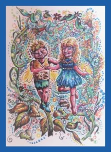 General fairies, Faye folk, for-him, for-her  personalised online greeting card