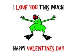 who's your froggie love Valentine love frog funny humour animals personalised online greeting card