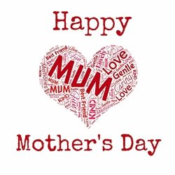 Mother Mothers Day Mum Love  personalised online greeting card