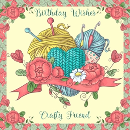 Birthday general BIRTHDAY FRIEND  personalised online greeting card