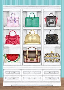 The Handbag Collector General Card