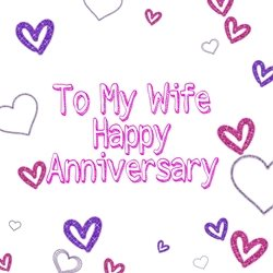 PinkWave Designs Happy anniversary Anniversary Love, couple personalised online greeting card