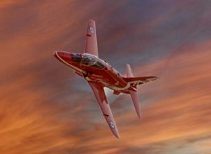 Photography Red arrow, plane, children, airplane, royal airforce personalised online greeting card