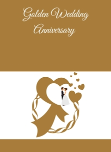 Couple,Hearts, personalised online greeting card