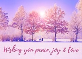 Christmas  wishing peace joy  love  greeting  made with love by raluca curcan z%a personalised online greeting card