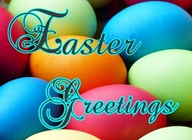 Easter  personalised online greeting card