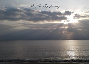 General moving sea sky morning photography for-him  personalised online greeting card