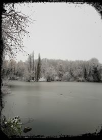 Cape Designs Winter chill Photography Water lake z%a personalised online greeting card