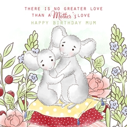 Birthday BIRTHDAY MUM love family personalised online greeting card