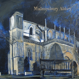 Art Malmesbury Abbey personalised online greeting card