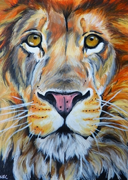 Art lion
