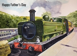 Fathers Day Steam Train