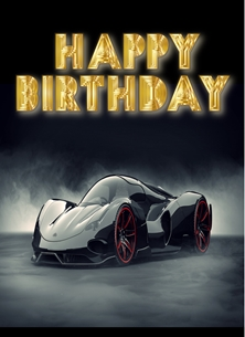 HAPPY BIRTHDAY CAR