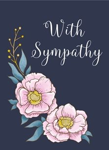 Sympathy flowers