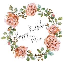 Birthday Mum personalised online greeting card