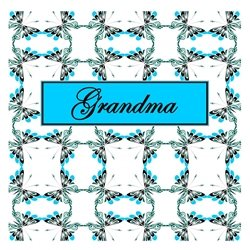General Grandma, Butterfly, Butterflies, Spring, Patterns, Insects, Bugs, Nature, Outdoors, Cheerful, Happy, Pretty  personalised online greeting card