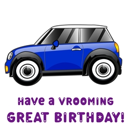 Vrooming Great Birthday