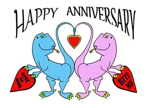 anniversary  greeting cards by who's your froggie  happy ann