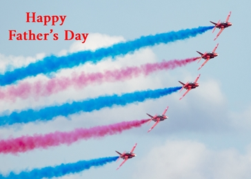 Red Arrows fathers day