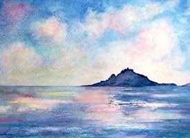 art Cornwall sea coast for-him for-her personalised online greeting card