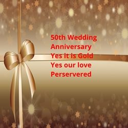 Anniversary Gold, red, sparkle, celebrate, joy personalised online greeting card
