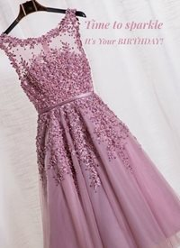 Birthday sparkle Dress z%a personalised online greeting card