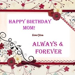 Birthday Mum  z%a personalised online greeting card