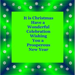 christmas for-him, for-her, sparkle, green,  personalised online greeting card