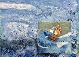 General Copper boat storm sea yacht sailing sail for-him personalised online greeting card