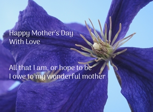 Mother's Day - Mother