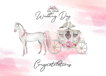 WEDDING congratulations celebration personalised online greeting card