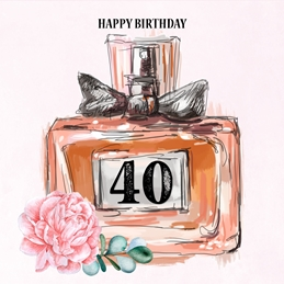 40 Birthday Card