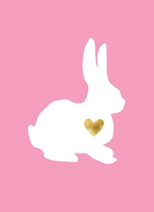 Golden Heart Bunny