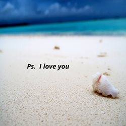 Ps. I love you card