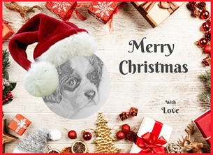Christmas Christmas  personalised online greeting card