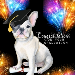 School GRADUATION congratulations celebrate  personalised online greeting card