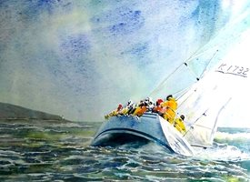 art boat seascape dad son  granddad friend uncle   for-him personalised online greeting card