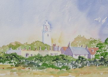 Art Lighthouse, Southwold, Seaside, Coast, Suffolk, Beach, Countryside personalised online greeting card