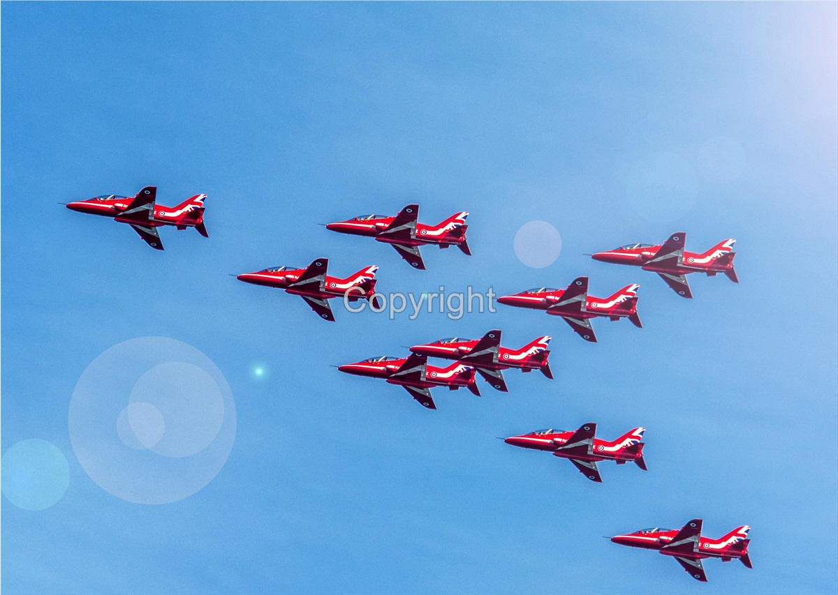 Red Arrows Birthday 3