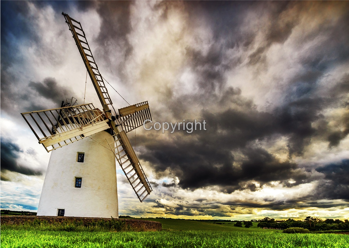 Evening at Ballycopeland Windmill